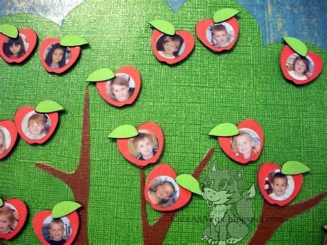 apple tree preschool teacher gift apple tree magnet board
