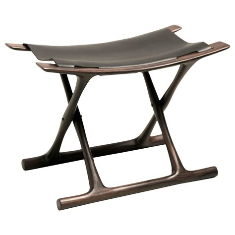 Folding Stools by Folding Stool In Indian Rosewood By Ole Wanscher