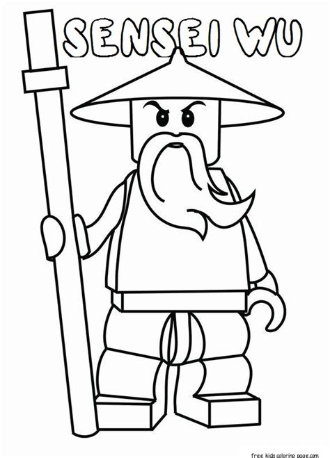 ninjago sensei garmadon coloring pages coloring pages
