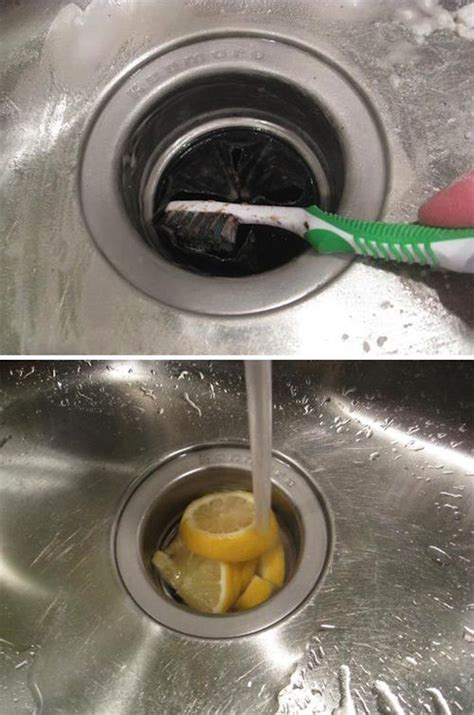 how to clean the kitchen sink how to clean house quickly and efficiently