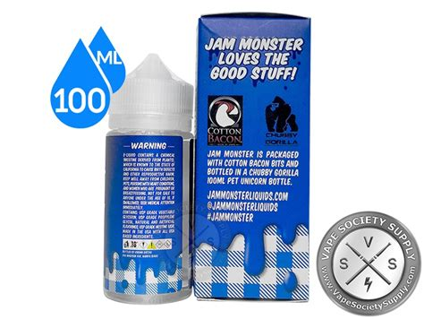 Liquid Gorilla Jam Blueberry Liquid blueberry jam ejuice by jam eliquid 100ml vape