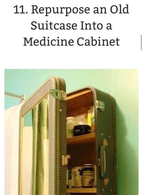 make your own medicine cabinet diy make your own medicine cabinet out of a suitcase musely