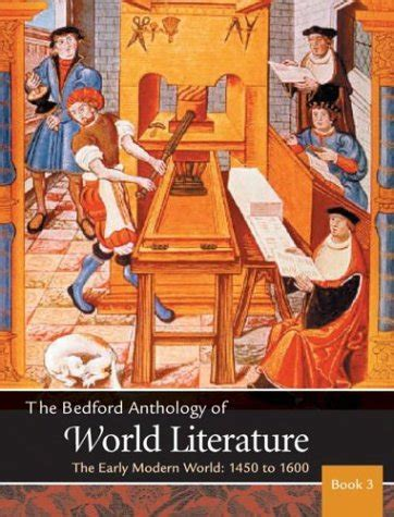 early literature an anthology books pdf the bedford anthology of world literature