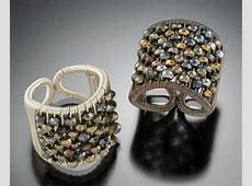 Plaited Mix-Tone Ring by Tana Acton (Gold, Silver & Stone ... Gold Hematite Beads