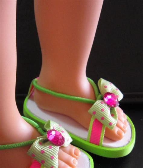 diy american doll shoes american doll sandals diy craft s