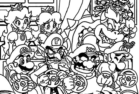 mario characters coloring pages online all mario characters coloring pages coloring home