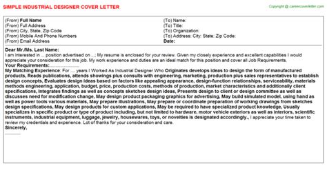 awesome industrial design cover letter 53 for best cover