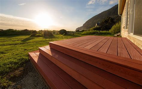Best Exterior Wood Deck Stain, Marine Grade Tung Oil for