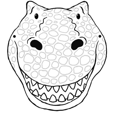 dinosaur mask coloring page best 25 dinosaur mask ideas on pinterest it clown mask