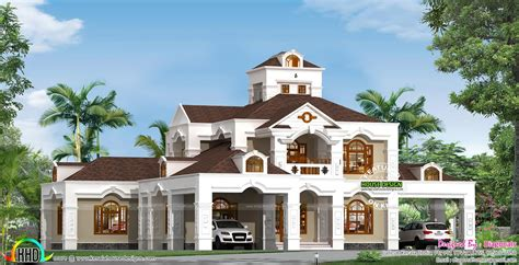 5000 square foot house 5 bedroom 5000 sq ft colonial home kerala home design