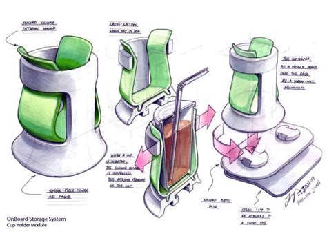 drawing for product designers verithin and marker sketch tutorial car body design