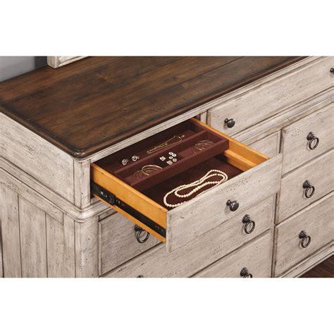 false bottom drawer flexsteel wynwood collection plymouth w1047 860 cottage 9