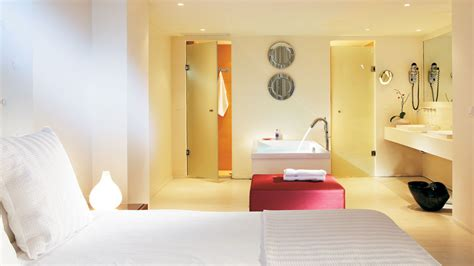 Luxury Bathroom Floor Plans luxury one bedroom suite amirandes 5 star hotel in crete