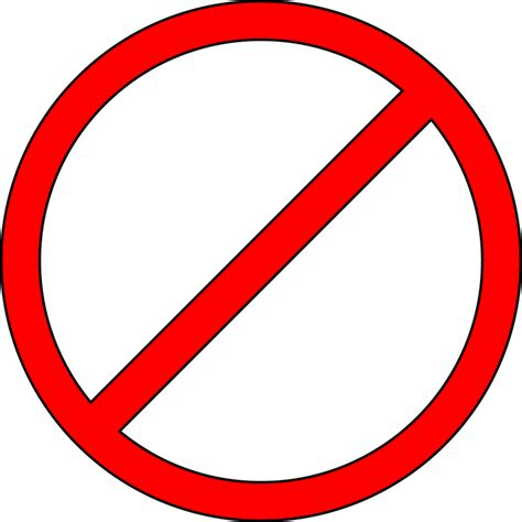 don t prohibited don t do not 183 free vector graphic on pixabay