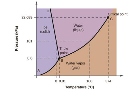 phase diagram of physical chemistry why does increase in pressure favor formation of water in water