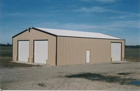 Metal Building Kits Prices 40x60 Steel Garage Kit Steel Building Company 4060