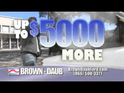 Brown Daub Ford by Brown Daub Ford Lincoln Trading On Up