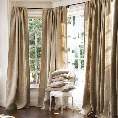 burlap curtain panels sale best 25 burlap window treatments ideas on pinterest