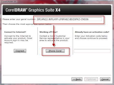 corel draw x4 registration code cara crack corel draw x4 knowledge sharing