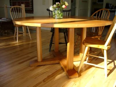 Pioneer Handcraft Furniture - cherry x base table