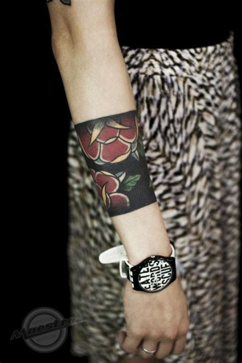 rose armband tattoos 25 best armband designs images on