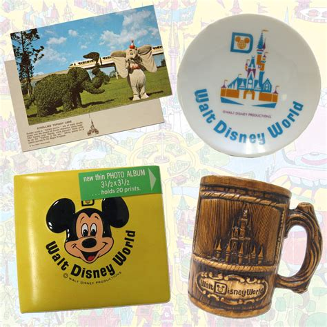 disney world souvenirs a look back at early walt disney world resort merchandise 171 disney parks blog