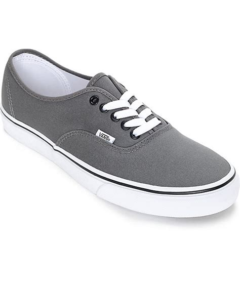 Vans Gift Card Number - vans authentic pewter and black skate shoes zumiez