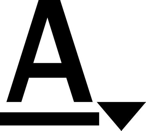 color font font color svg png icon free 134421