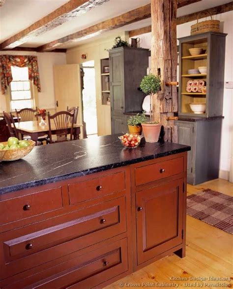barn red kitchen cabinets barn red cabinets soapstone countertop kitchen