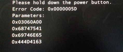 Asus Laptop Error Codes error code 0x0000005d intel diit cz