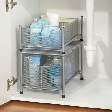 organize bathroom cabinet sink best 25 sink storage ideas on bathroom