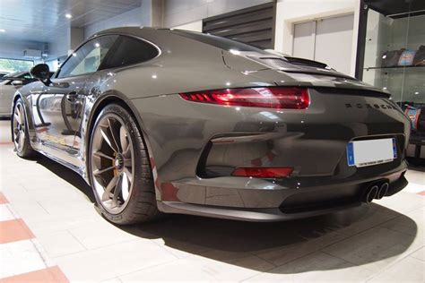 Slate Grey Porsche 911 R Inspired By Steve Mcqueen