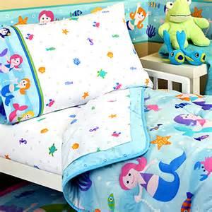 Mermaid Toddler Bedding Great Bedding 5pc Mermaid Toddler Queen Comforter