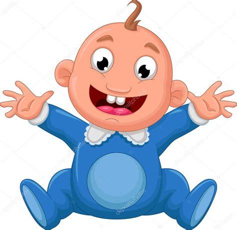 imagenes feliz bebe beb 233 feliz de dibujos animados foto de stock