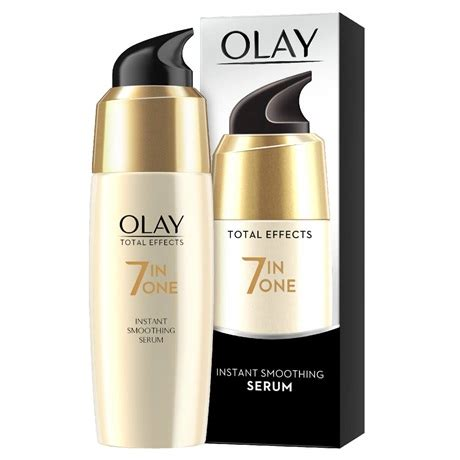 Olay Total Effect Serum total effects instant smoothing serum olay uk