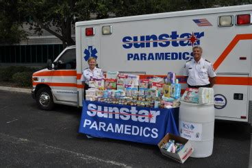 sunstar donates items to rcs food bank and family homeless