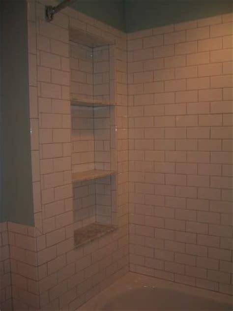 Shower Niche Shelf by Shower Niche Carrara Shelves Bathroom Ideas