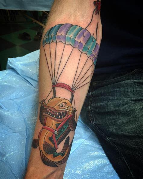 parachute tattoo 28 parachute designs airborne parachute
