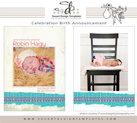 free birth announcement templates free birth announcement template for designers and