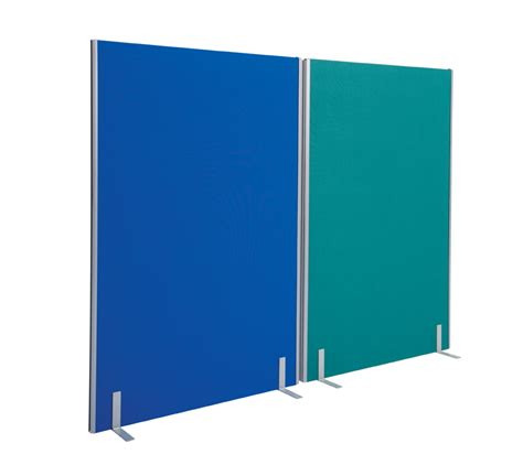 Outdoor Fabric by Office Partition Screen Room Divider 1800 X 1600mm Blue