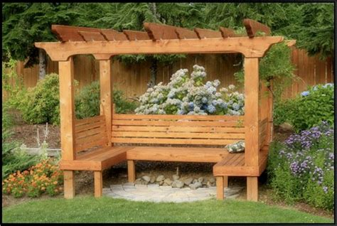 bench with arbor 100 arbor and trellis garden trellis pergola new cedar