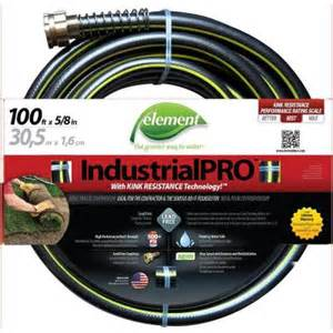 Garden Hose At Home Depot Element Industrialpro 5 8 In Dia X 100 Ft Lead Free