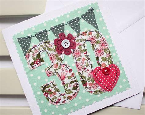 Handmade 30th Birthday Card - best 20 30th birthday ideas on 30th birthday