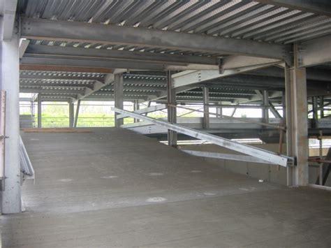 car crash parking garage