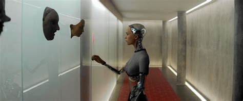 ex machina review review unnerving consideration of artificial intelligence in ex machina la times