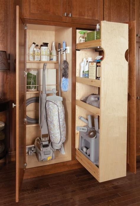 kitchen broom cabinet broom cabinet with pull out for the home pinterest