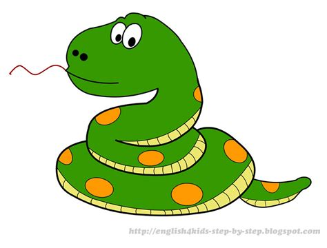 snake clipart free clip for teachers forest animals