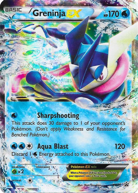 Kartu Trading Card Water X And Y Froakie Dkk pok 233 mon tcg headquarters card of the day greninja ex promontional release