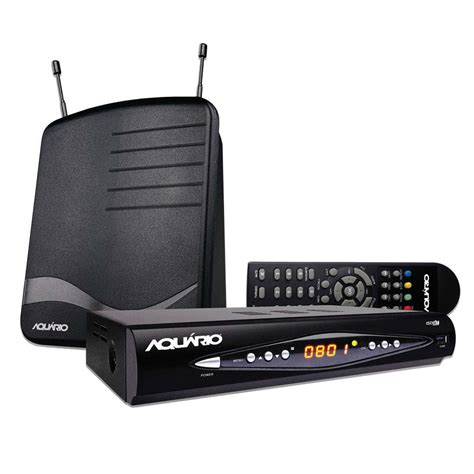 Antena Tv Digital Hd kit conversor e gravador digital hd antena interna aqu 225 dtv8100 antenas e