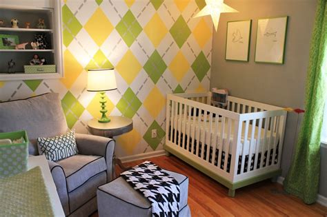 green and yellow bedroom vote project of the week